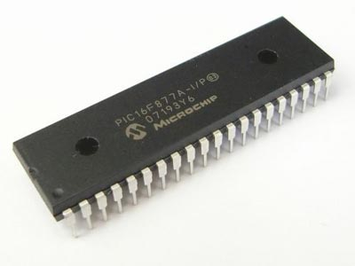 IC PIC 16F877A Microcontroller