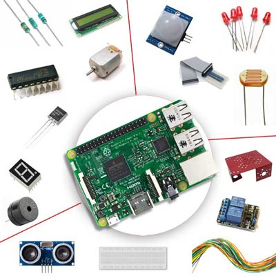 Raspberry Pi 3 Self Learning Kit - Develop Multiple Projects with Raspberry Pi 3.