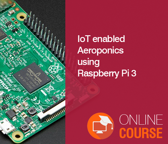 IoT enabled Aeroponics using Raspberry Pi 3