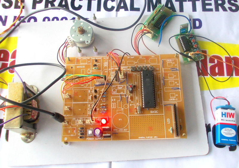 Do it yourself kits stepper motor control through rf link solutioingenieria Choice Image