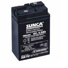 Sunca Battery 6V, 4.5Ah