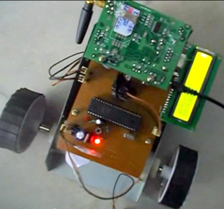 ARDUINO BASED GSM BASED WIRELESS ROBOT
