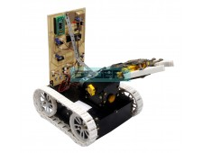 Pick N Place Robotic Arm and Movement Controlled by Android Wirelessly